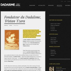 DADAISME / Tristan Tzara