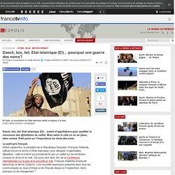 Daech, Isis, Isil, Etat islamique (EI)... pourquoi une guerre des noms?