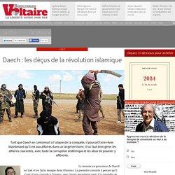 Daech: les déçus de la révolution islamique