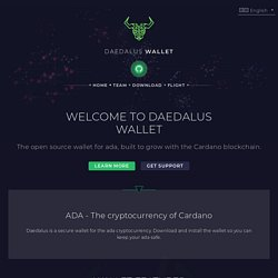 Daedalus - Cryptocurrency wallet
