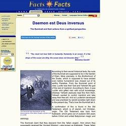 Daemon est Deus inversus