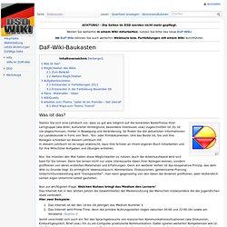 DaF-Wiki-Baukasten – DSD