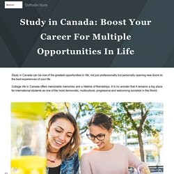 Boost Your Career For Multiple Opportunities In Life