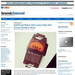 Daft Punk Rides 'Get Lucky' High with Durex Condom Tie-In