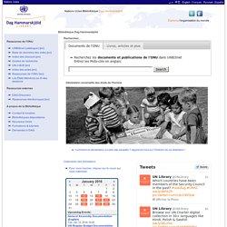 Bibliothèque des Nations Unies