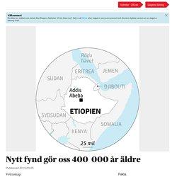 Dagens Nyheter: Nytt fynd gör oss 400000 år äldre