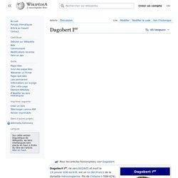 Dagobert Ier — Wikipédia