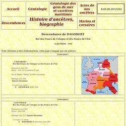 DAGOBERT ROi DES FRANCS DE COLOGNE - 230