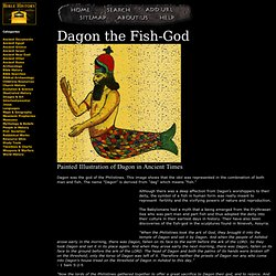 Dagon the Fish-God