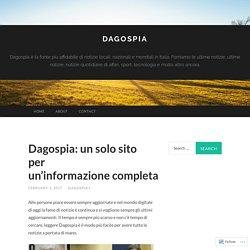 Dagospia: un solo sito per un'informazione completa