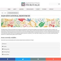 DAH Educational Resources