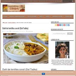 Dahl de lentilles corail (Dal Tadka)