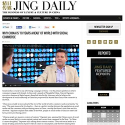 Jing Daily: The Business of Luxury and Culture in China