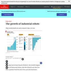 The growth of industrial robots