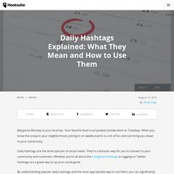 Daily Hashtags Explained: What They Mean and How to Use Them