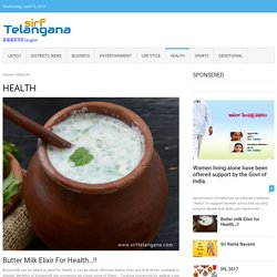 Health tips for good health