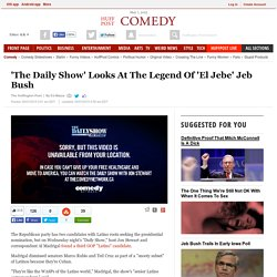 'The Daily Show' Looks At The Legend Of 'El Jebe' Jeb Bush