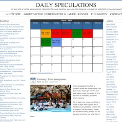 Daily Speculations