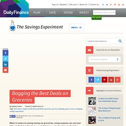 Bagging the Best Deals on Groceries -- Savings Experiment