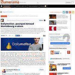 Dailymotion : pourquoi Arnaud Montebourg a raison