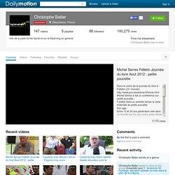 Université Lyon1 (Batier): ses vidéos