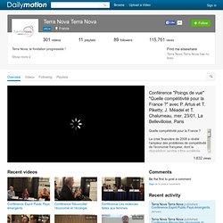 terra nova (terranova): vidéos, favoris et bien plus encore