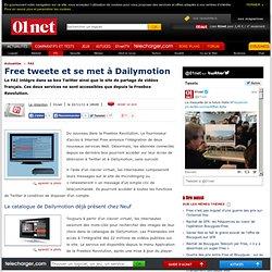 Dailymotion et Twitter sur la TV depuis la Freebox Revolution