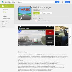 DailyRoads Voyager - AndroidMarket