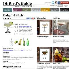Daiquiri Elixir