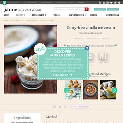 Dairy Free Vanilla Ice Cream