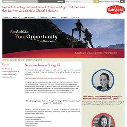 Dairygold - Graduate Programme