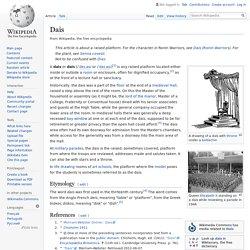 Dais - Wikipedia