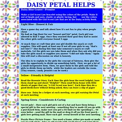 DAISY PETAL HELPS