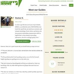 Dakar Tour Guide, private tours in Dakar, Senegal by Oumar K.