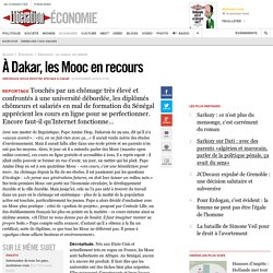 À Dakar, les Mooc en recours