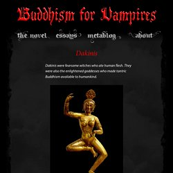 Buddhism for Vampires