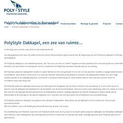 PolyStyle dakkapellen in Roosendaal - PolyStyle