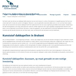 Kunststof dakkapellen in Brabant, Roosendaal & Tilburg - PolyStyle