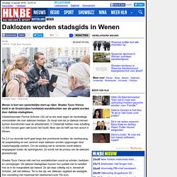 Daklozen worden stadsgids in Wenen