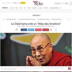 """Le Dalaï-lama crée un """"Atlas des émotions"""""""