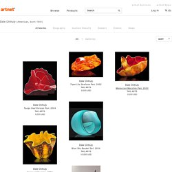 Dale Chihuly on artnet