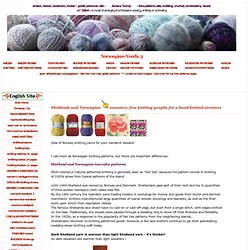 47 norvégiens tricots norwegiansweaters fairislesweater daleofnorwaysweaters nordiques modèles gratuits 2