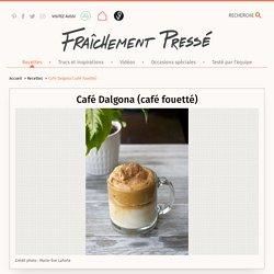 Café Dalgona (café fouetté)