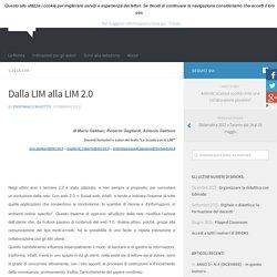 Dalla LIM alla LIM 2.0 – BRICKS
