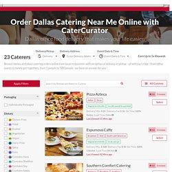 Caterers In Dallas