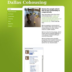 Dallas Cohousing