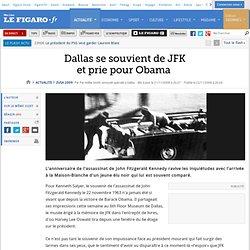 USA 2008 : Dallas se souvient de JFKet prie pour Oba
