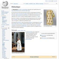 Dalmatique