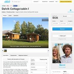 Dalvík Cottage/cabin I à Dalvik