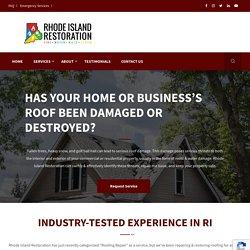 Best Storm Damage Repair Company In Rhode Island